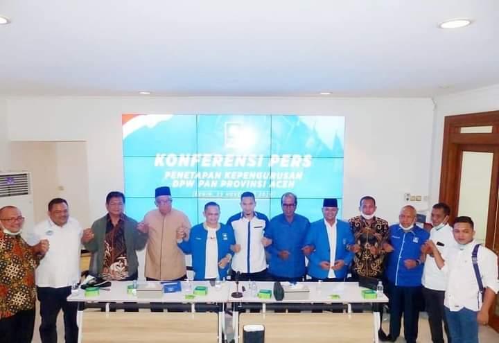 Bupati Aceh Besar, Energi Baru DPW PAN Aceh
