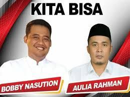 Hitung Cepat 3 Lembaga Survei di Pilkada Medan [Hasil Sementara]: Bobby-Aulia Memimpin
