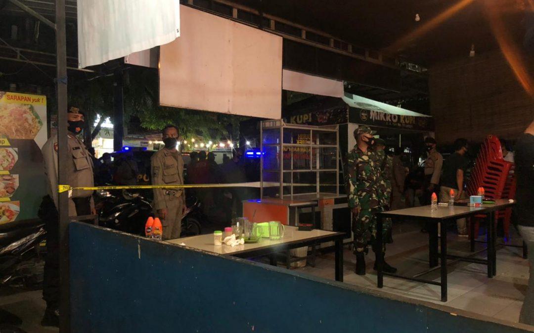 Operasi Yustisi Segel Tiga Warkop di Langsa