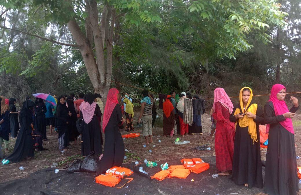 Etnis Rohingya Kembali Terdampar di Aceh Timur