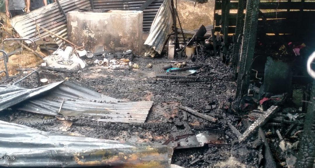 Damkar Rusak, Kebakaran di Pintu Rime Gayo Dipadamkan secara Manual