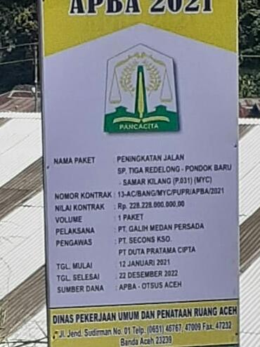 Pelaksanaan Pekerjaan PT Galih Medan Persada: Konsultan Pengawas Bantah Menggunakan Material Longsor