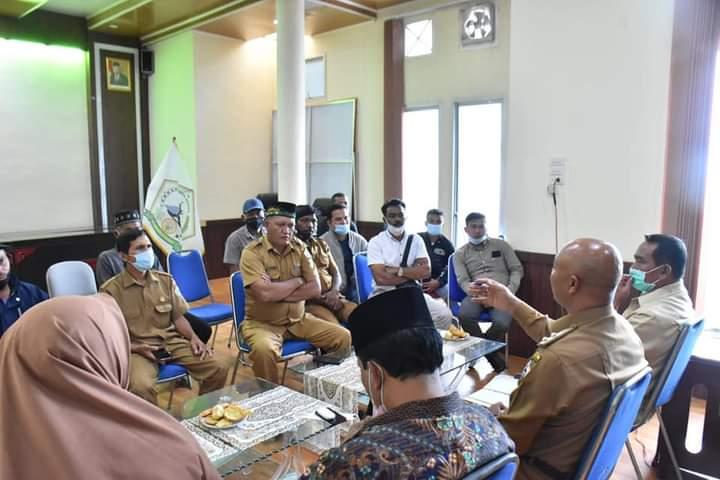 Pembangunan Waduk Krueng Kerto Bersengketa: Plt Bupati Bener Meriah Temui Bupati Aceh Utara