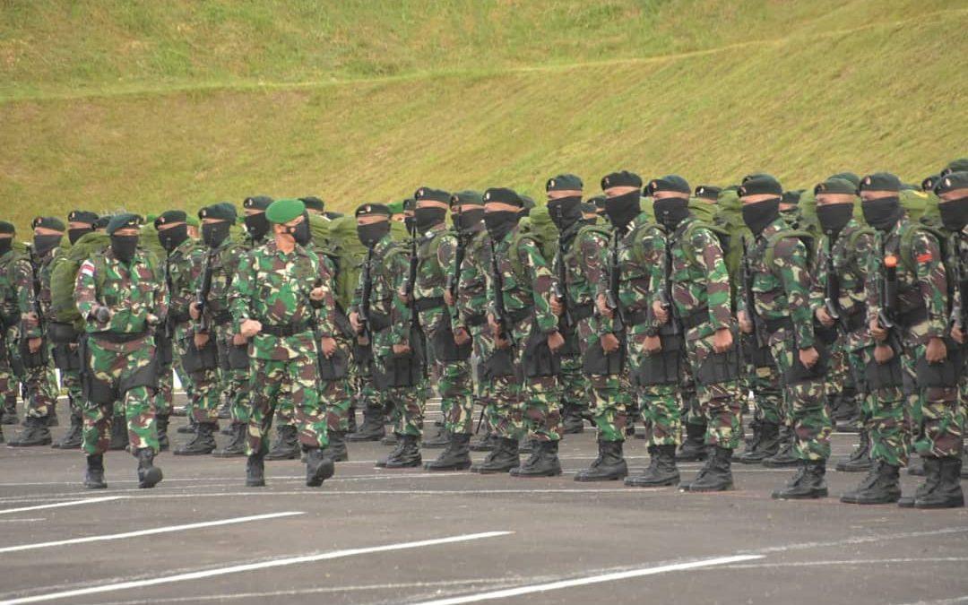 Pangdam Iskandar Muda Lepas Satgas Pamtas Penyangga Yonif RK 114/SM ke Papua