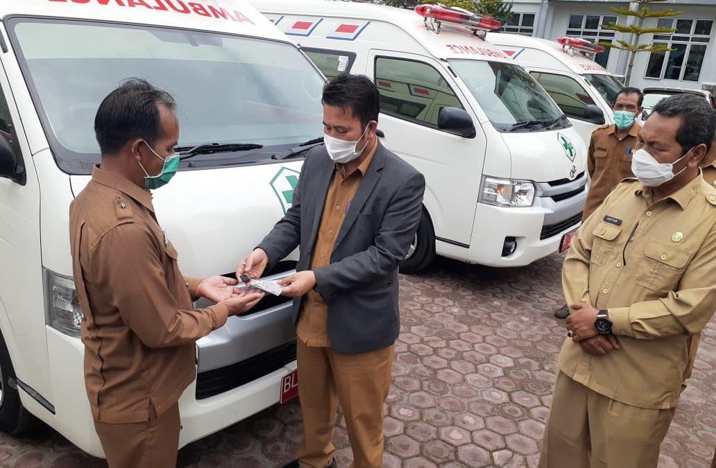 4 Pukesmas Menerima Ambulance dari Dana Otsus Tahun 2021