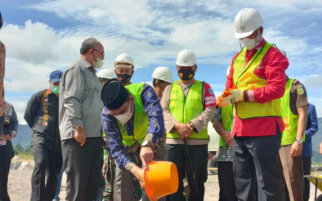 Peletakan Batu Pertama Pembangunan BMCC: Diharapkan Bener Meriah Punya Gedung untuk Berbagai Event