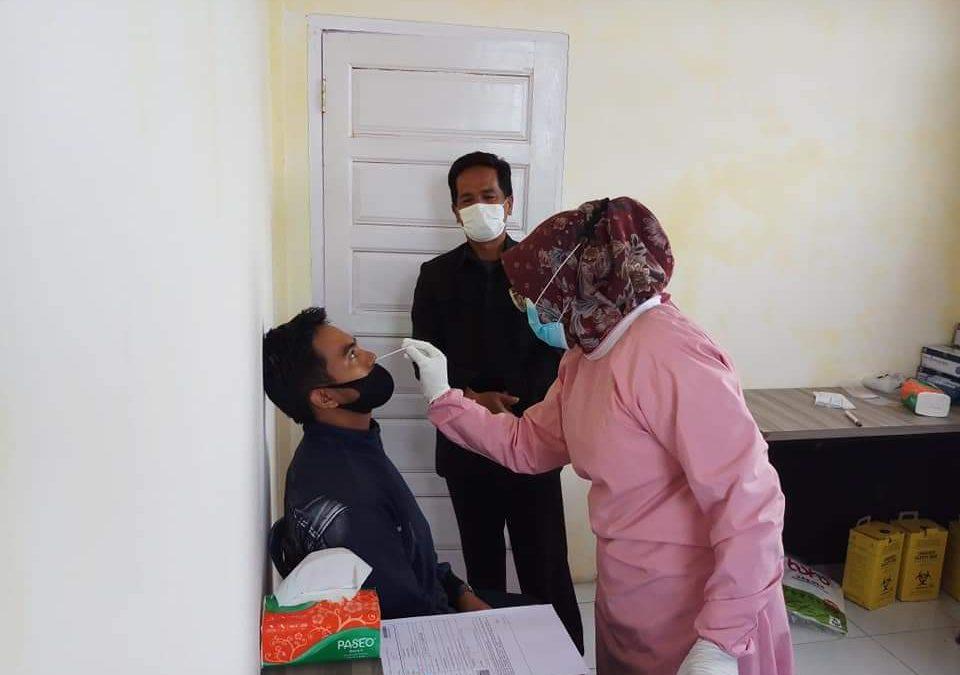 Dinkes Bener Meriah Fasilitasi Antigen Gratis untuk Peserta PPPK