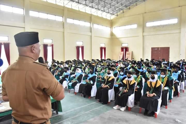 Plt. Bupati Dailami Hadiri Wisudawan-Wisudawati Santri TKA-TPA-TQA LPPTKA-BKPRMI Angkatan Ke-10