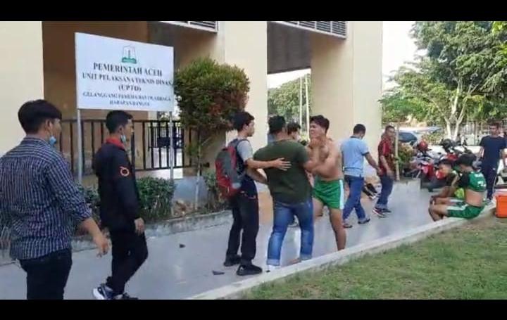 Diduga Wasit Pra Pora III Futsal Aceh Tidak Netral: Bener Meriah vs Banda Aceh Ricuh