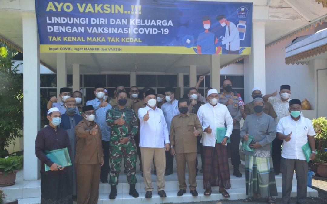 Perkuat Imunitas Santri, Sekda Aceh Bertemu Pimpinan Dayah di Langsa