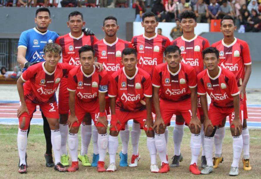 Sepak Bola Aceh Melaju Babak 6 Besar PON Papua