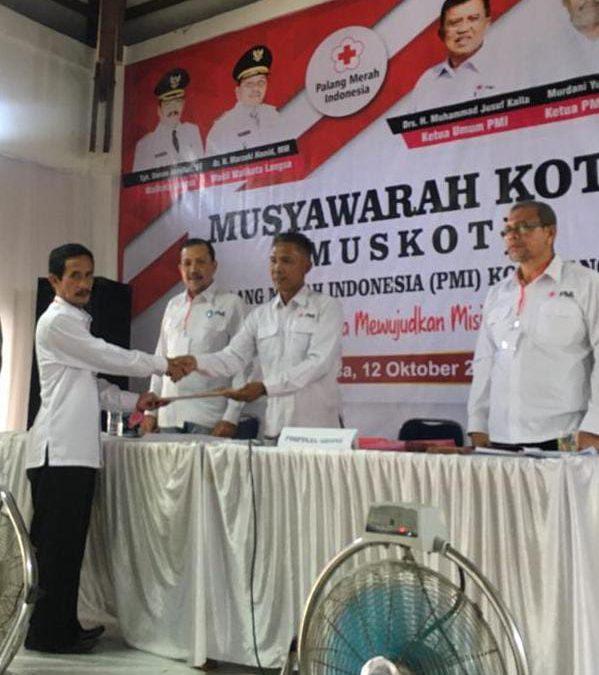 Sayid Abdurrahman Kembali Pimpin PMI Kota Langsa