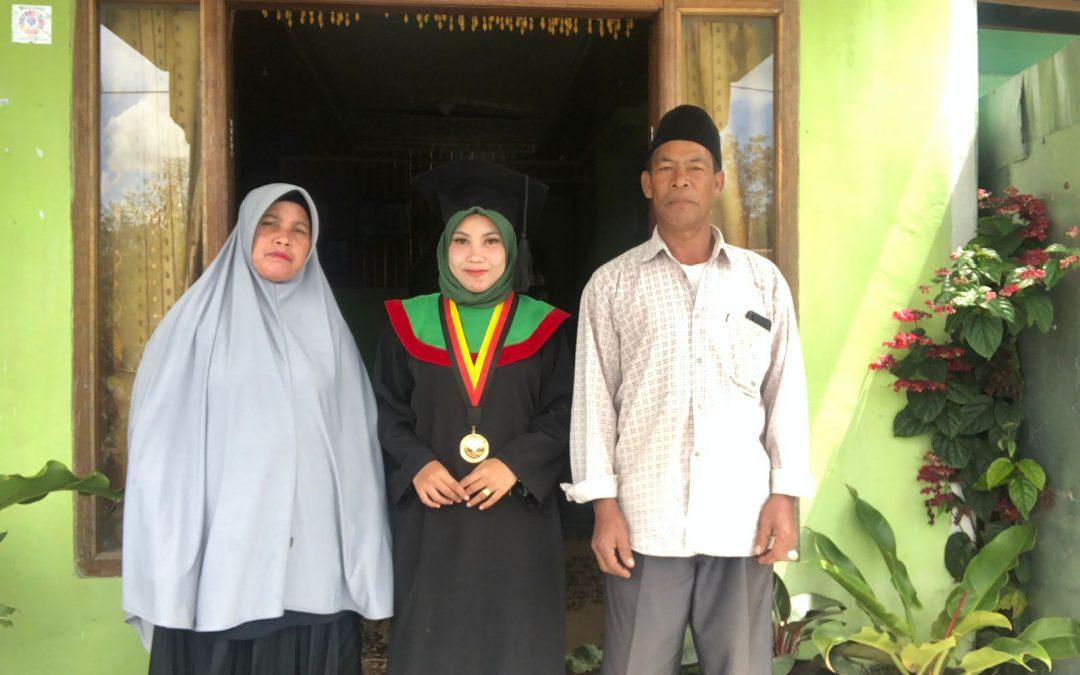Yury Ulandary Raih Gelar Master [M.Pd.] dari UPI Bandung dengan IPK Sangat Memuaskan