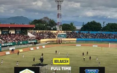 Anak Asuh Fakhri Husaini Kalah 0-1 Dari Papua