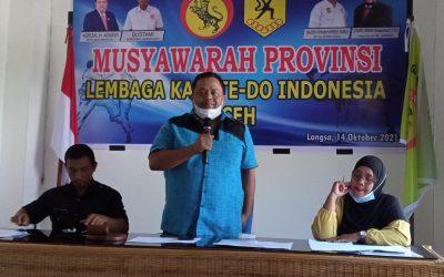Asrizal H. Asnawi Kembali Pimpin Lemkari Aceh